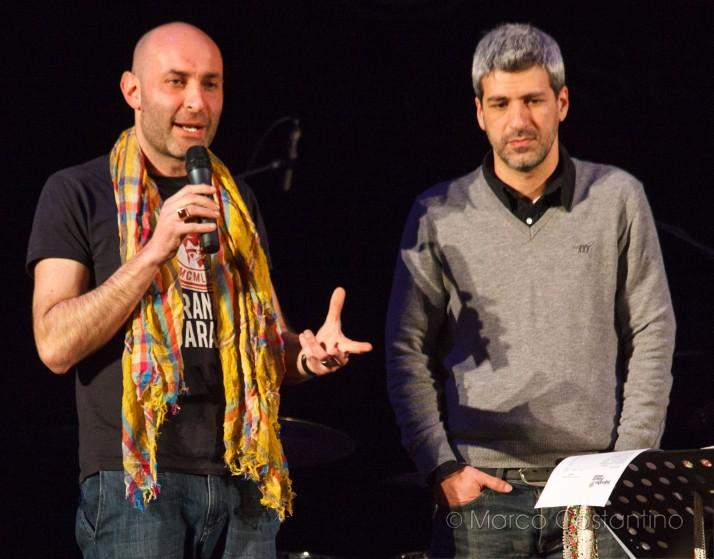 Alessio Laganà e Massimo Barilla