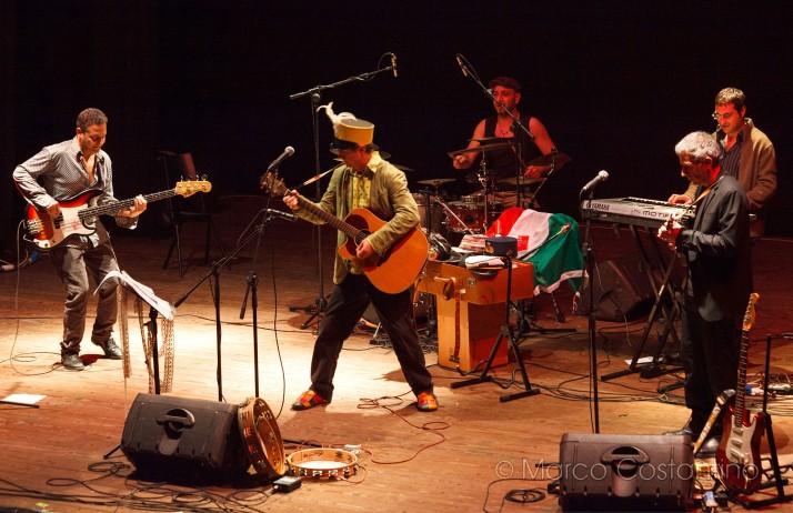 Il live della band calabrese al Politeama Siracusa