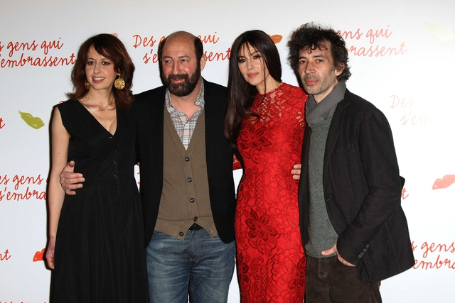 "FRENCH PREMIERE OF THE FILM ""DES GENS QUI S'EMBRASSENT"""