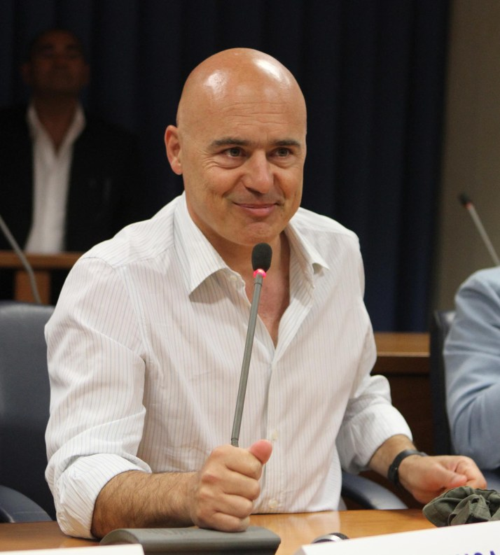 Luca Zingaretti (foto Franco Cufari)
